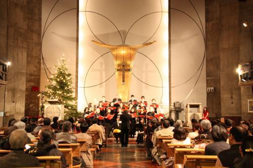 091219目黒教会クリスマスコンサート6