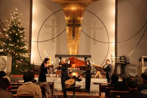 091219目黒教会クリスマスコンサート5
