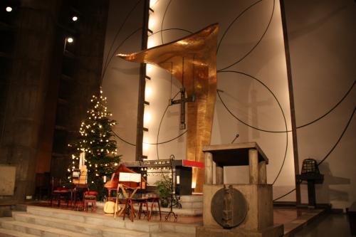 091219目黒教会クリスマスコンサート1