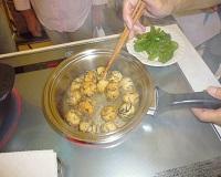 ピーマンとひじき団子の炒め煮