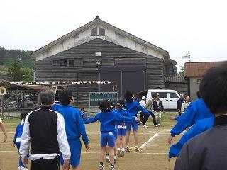 野球練習、地区運動会 004