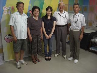 NHK山形放送局へ収録 006