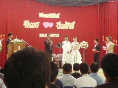 アカ族の結婚式2