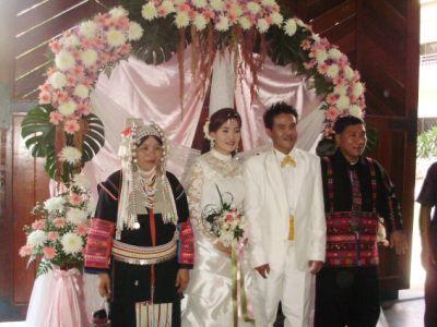 アカ族の結婚式7
