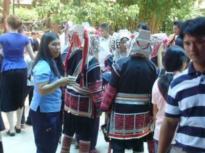 アカ族の結婚式8