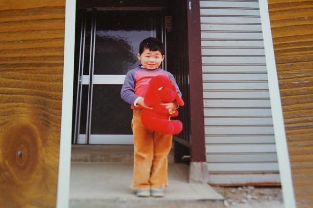 もうすぐ4歳の頃