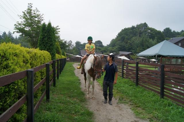 乗馬体験3