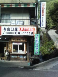 祖谷汁食べた店