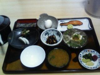 祖谷 朝食