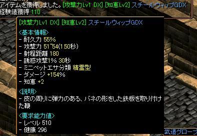 鞭攻撃dx1007