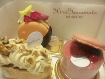 おいしいスイーツ パティシエ ヒロ ヤマモト ケーキ110414