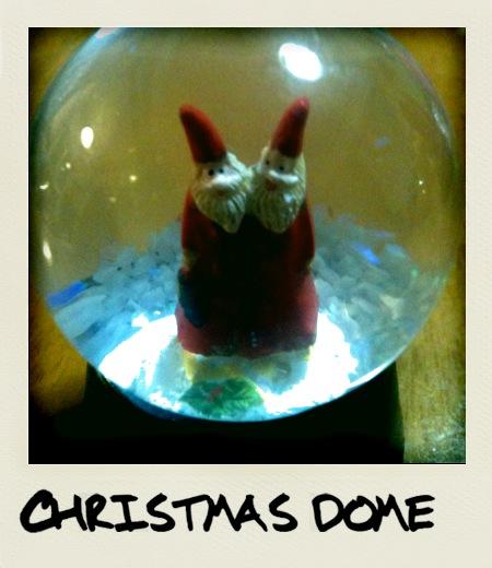 クリスマスドーム
