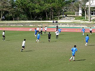 サンフレッチェ広島が本部町キャンプ05