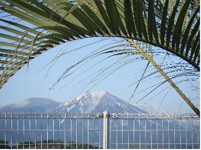 野尻湖から高千穂の峰