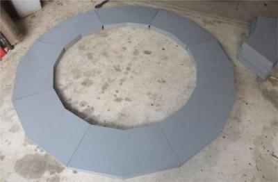 カーブセクション完成塗装済み円形
