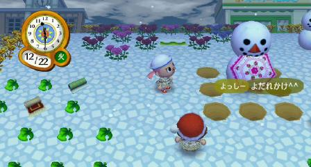雪だるまに入る2