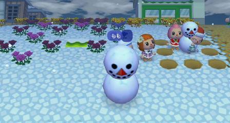 雪だるまに入る5