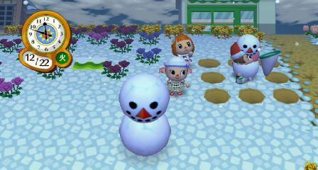 雪だるまに入る6