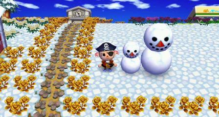 雪だるま 足もないのに なぜうごく 1