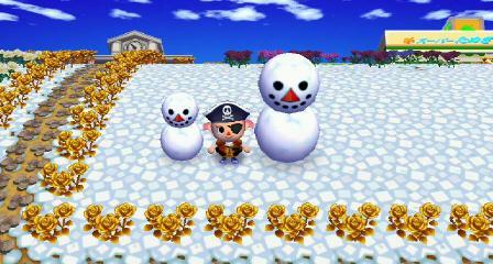 雪だるま 足もないのに なぜうごく 2