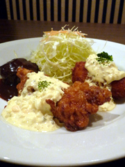 下通りの個室洋食屋KUMAJIRO(熊次郎)のおもしろランチ☆