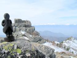 金峰山 五丈岩 岳カミサマ