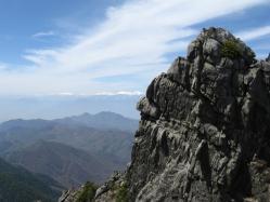 金峰山 ブルースカイ