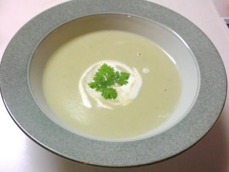 そら豆スープ