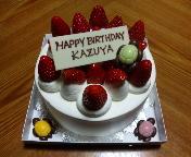 24歳亀ちゃんケーキ