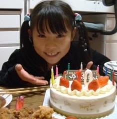 ゆりあ10歳おめでとう