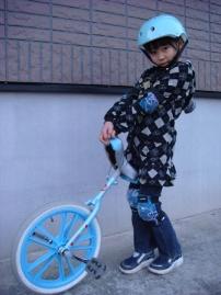 一輪車大好き♪