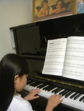 ピアノ大好き♪