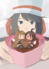 バレンタインイラスト♪
