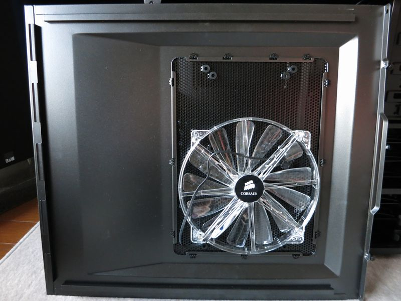 86bb62c24c Carbide 500R サイドパネルのアクリル化 - 趣味につながる日記。