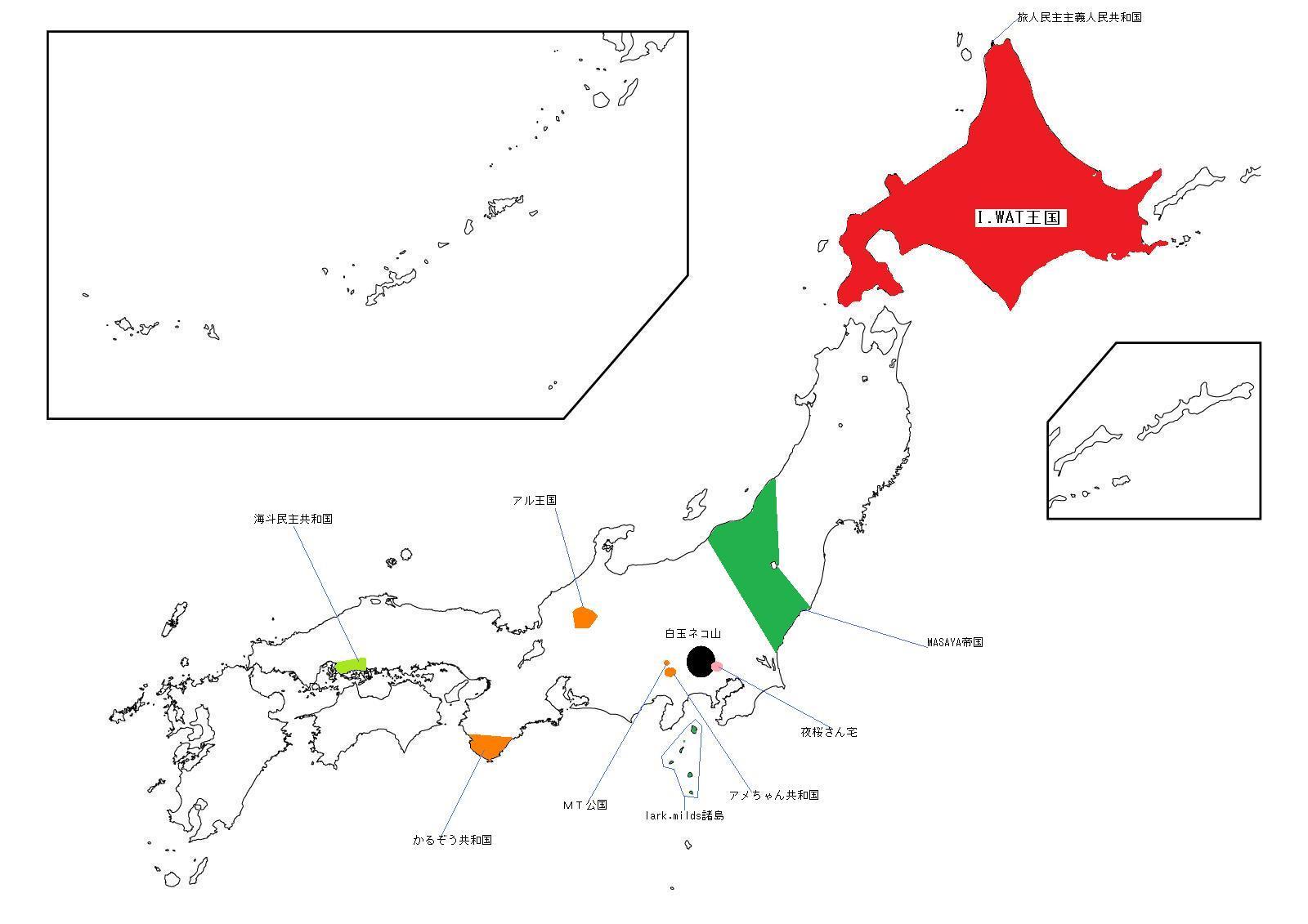 日本地図1
