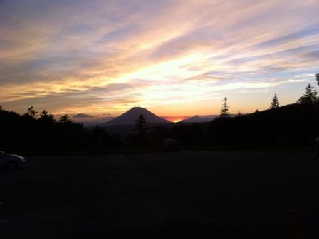 中山峠から羊蹄山