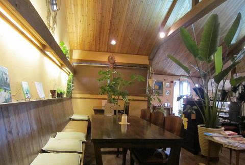 カフェ店内②