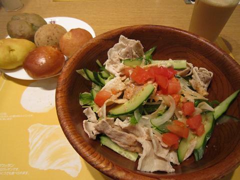 2皿目&サラダ