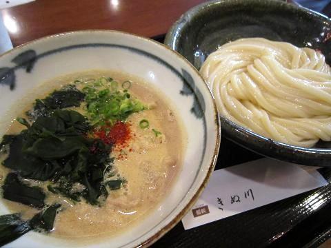 豚胡麻付け麺