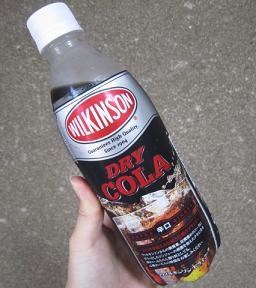 ウィルキンソンのコーラ?!