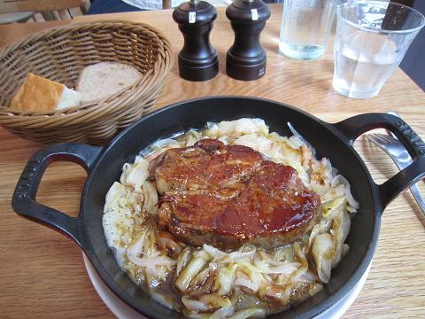 豚ロースのオーブン焼き