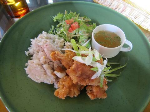 鶏の唐揚げ おろしポン酢