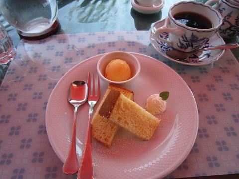 デザート2種&コーヒー