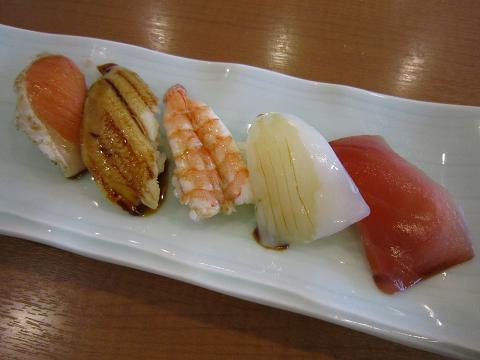 お寿司5貫