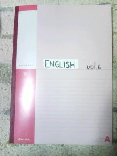 英語ノート vol-6