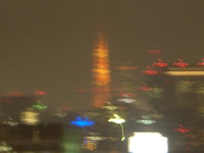 ホテルから 東京タワー