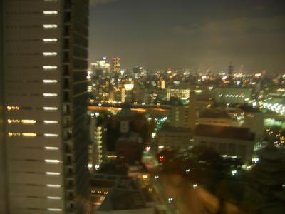ホテルから夜景2