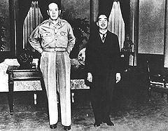 マッカーサーと昭和天皇