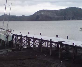 20100417  朝の雪