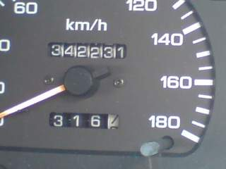 20100525 セレナスピードメーター